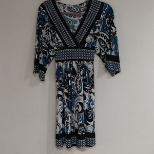 Dresses & Skirts - Women's Lipstick Blue Dress Plus Size XL